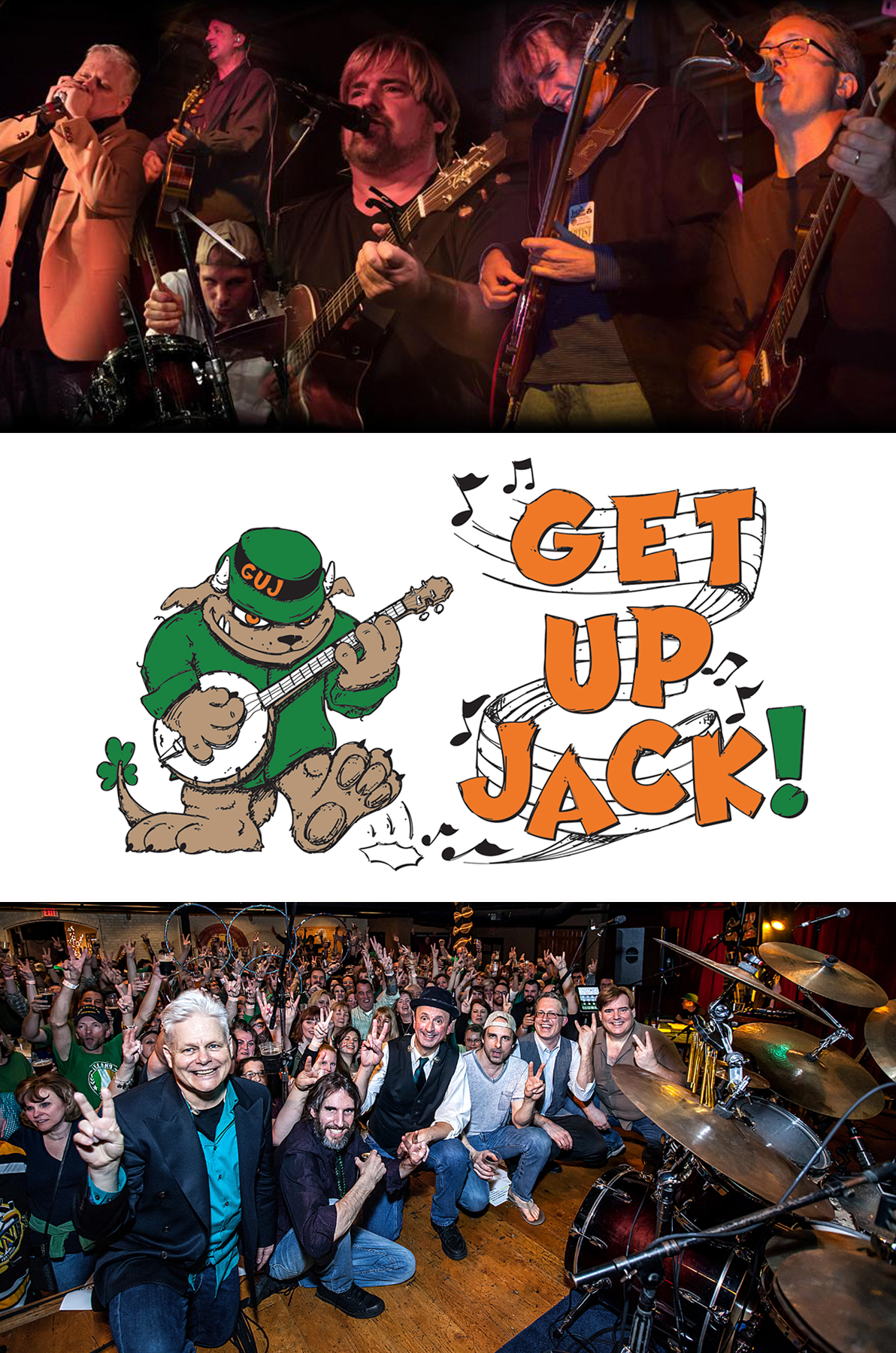 Get Up Jack! Saturday, March 3rd 6pm